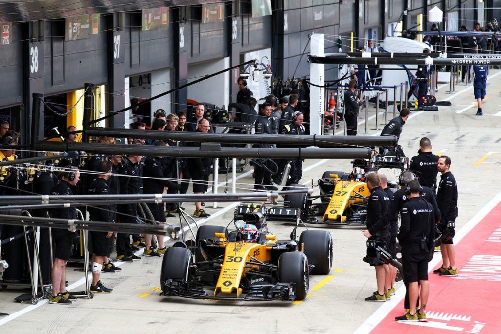 Renault F1 R.S.17 2017 - Silverstone