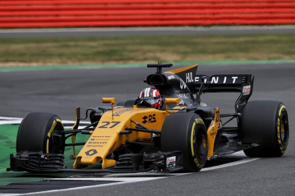 Renault F1 R.S.17 2017 - Silverstone - N. Hulkenberg