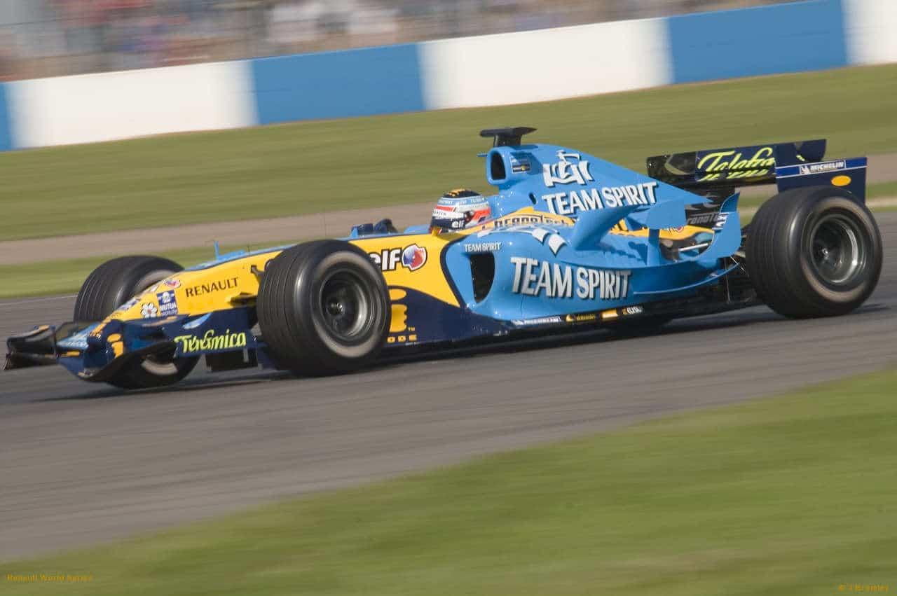 Renault F1 R25 2005 – Fernando Alonso
