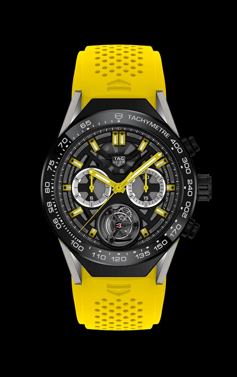 TAG Heuer Carrera Heuer-02T ONLY WATCH_black