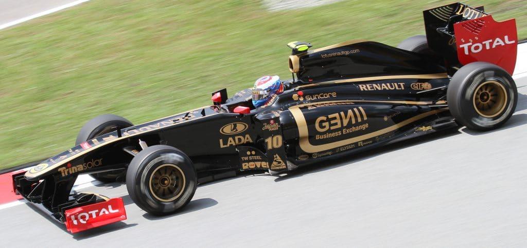 Lotus Renault GP F1 2011 - Vitaly Petrov