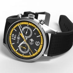Bell & Ross BR126 Renault Sport 40th Anniversary : 40 ans de passion en F1