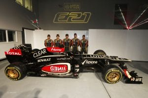 Lotus Renault E21 2013