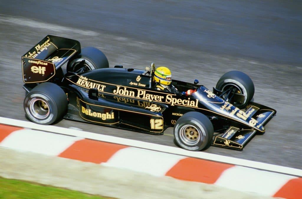 Lotus 98T 1986 - Ayrton Senna