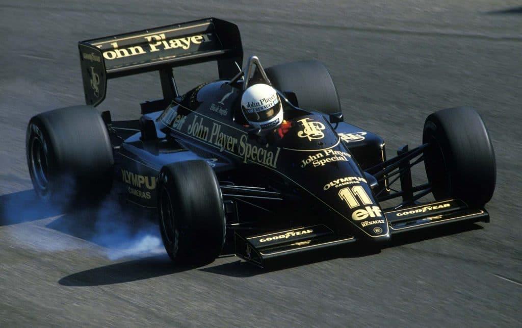 Lotus 97T 1985 - Elio De Angelis
