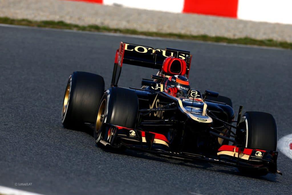 Lotus Renault E21 2013 - Kimi Raikkonen