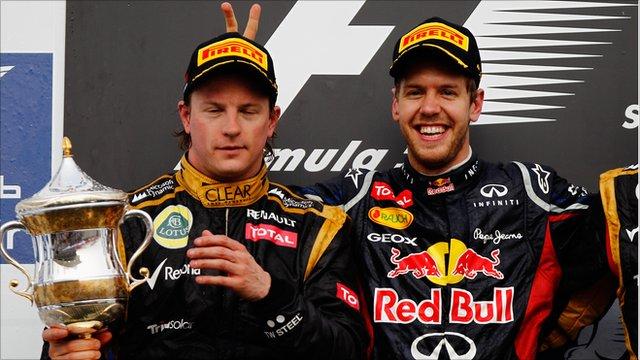 F1 2012 - Kimi Raikkonen & Sebastian Vettel