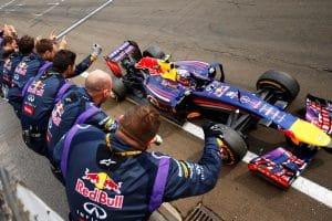 Red Bull Renault F1 RB10 2014 - Daniel Ricciardo