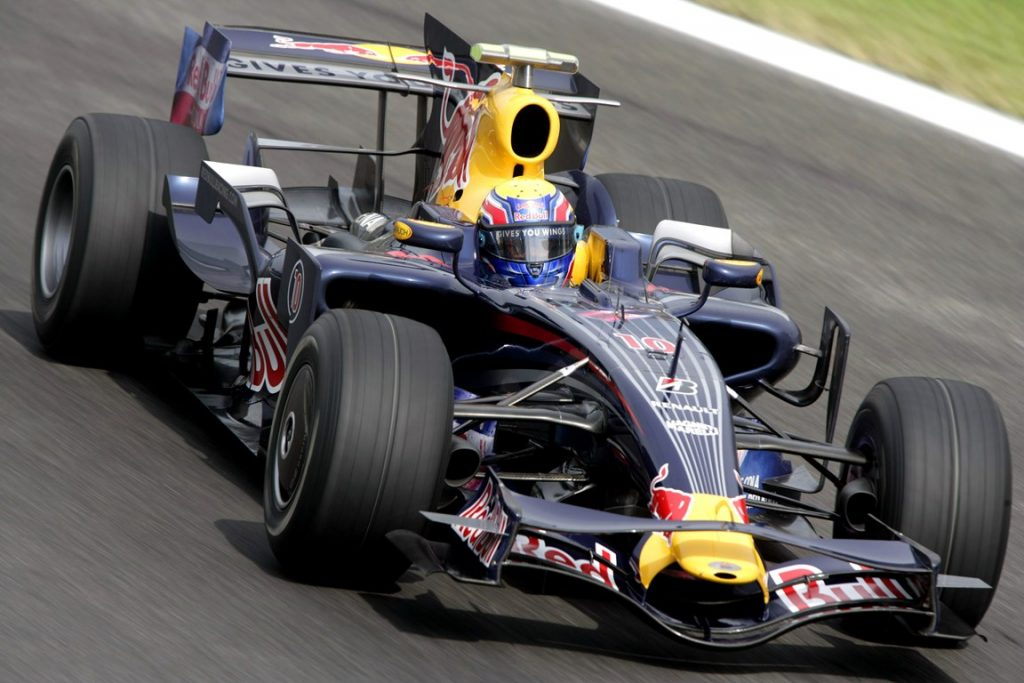Red Bull Renault F1 RB4 2008 - Mark Webber