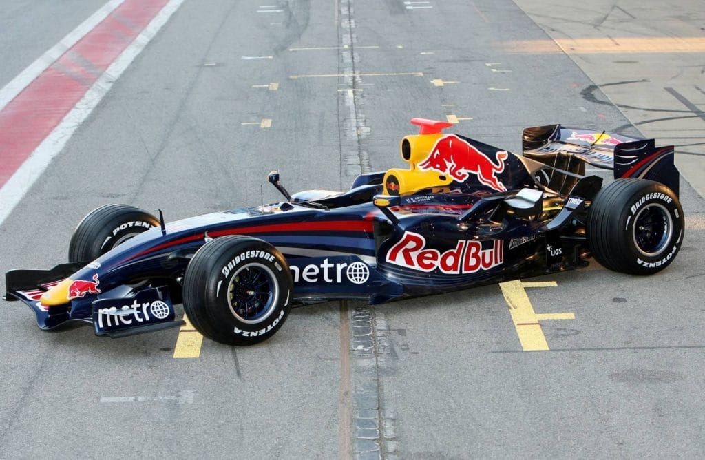 Red Bull Renault F1 RB3 2007