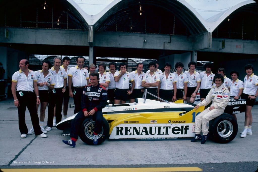 Renault F1 1982 - Alain Prost et René Arnoux