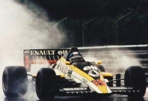 Renault F1 1985 - Patrick Tambay