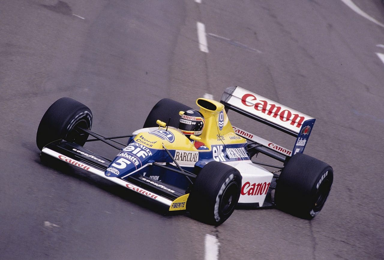 williams renault 1990 boutsen