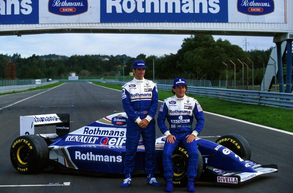 williams renault 1994 hill senna