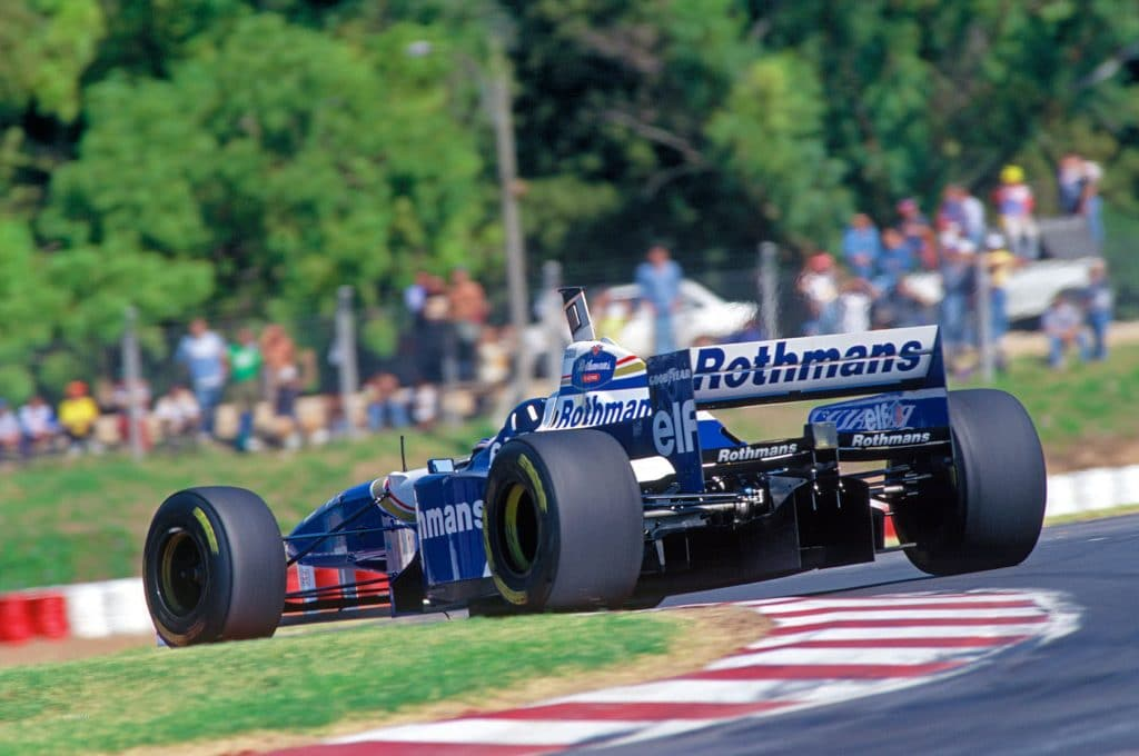 Williams Renault FW18 1996 - Damon Hill