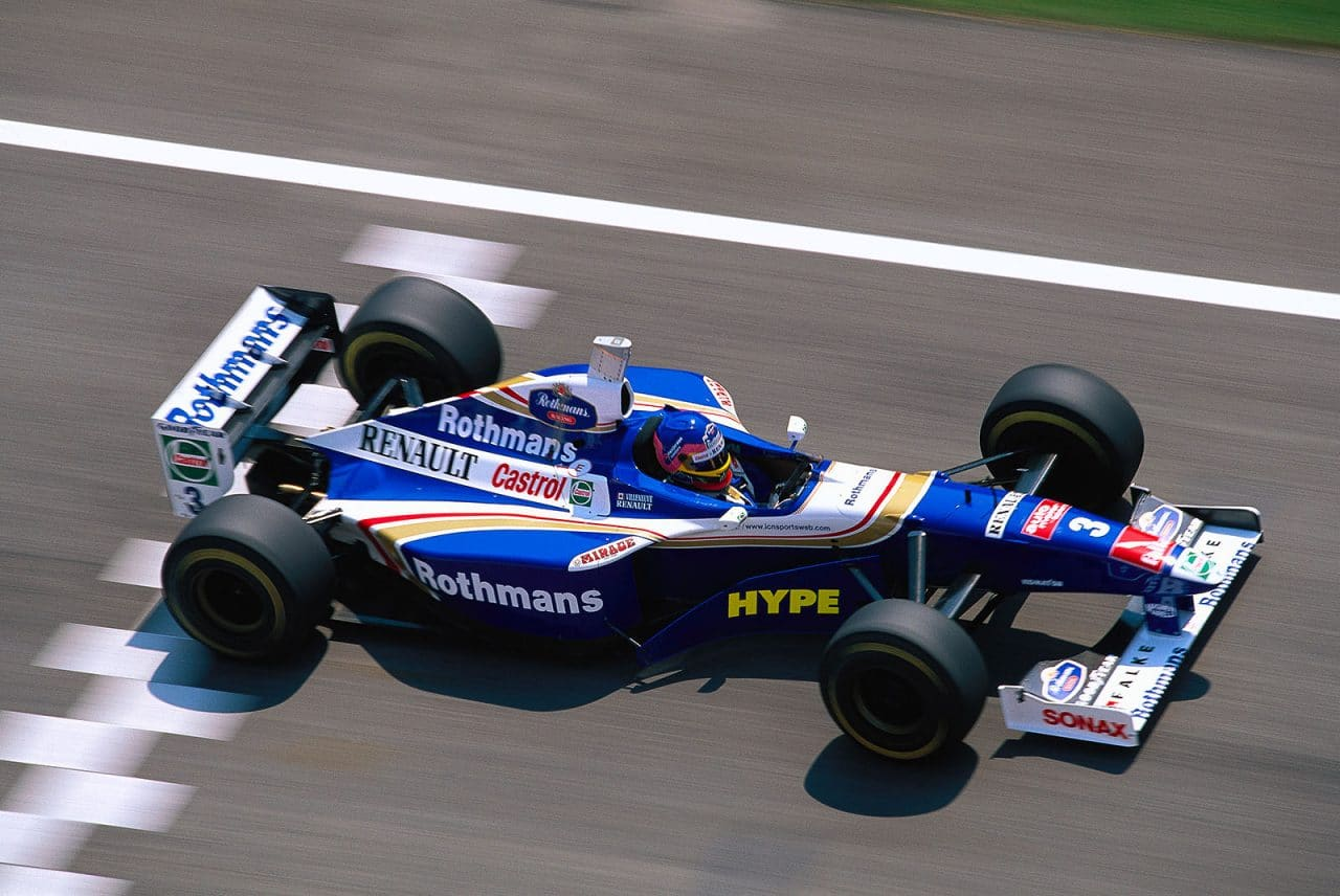 williams renault FW19 1997 villeneuve
