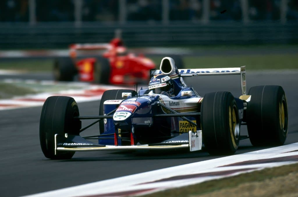 williams renault FW19-frentzen-1997