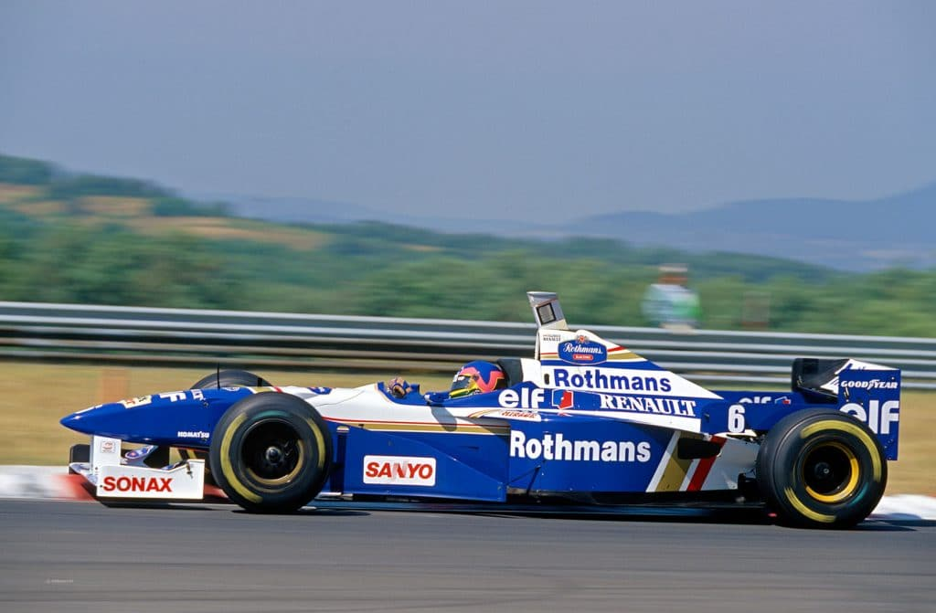 Williams Renault FW19 1997 - Jacques Villeneuve