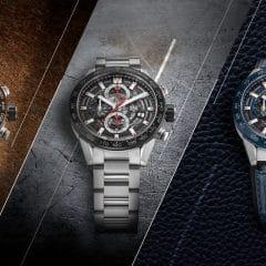 TAG Heuer Carrera Heuer 01 43 mm : Versions compactes d'un chronographe à succès
