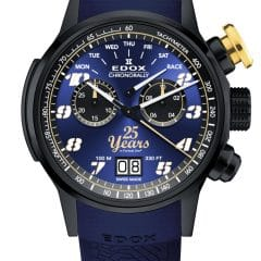 "Edox Chronorally Sauber F1 Team ""25th anniversary"" Limited Edition : Blue spirit"