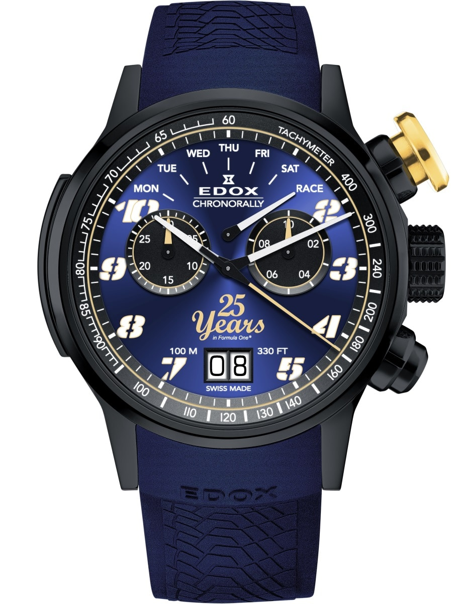"Edox Chronorally Sauber F1 Team ""25th anniversary"" Limited Edition"