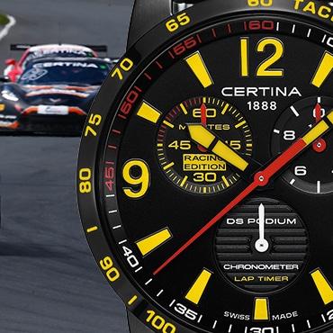 "Certina ""ADAC GT Masters"" Chronographe DS Podium Lap Timer - Racing Edition"