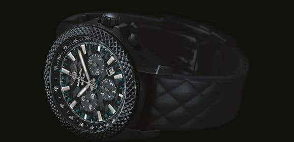 "Breitling for Bentley GT "" Dark Sapphire"" Edition : Hommage à la nouvelle Continental GT"