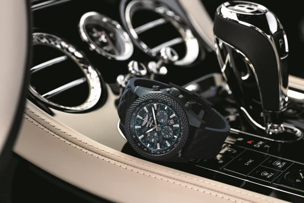 "Breitling for Bentley GT "" Dark Sapphire"" Edition"