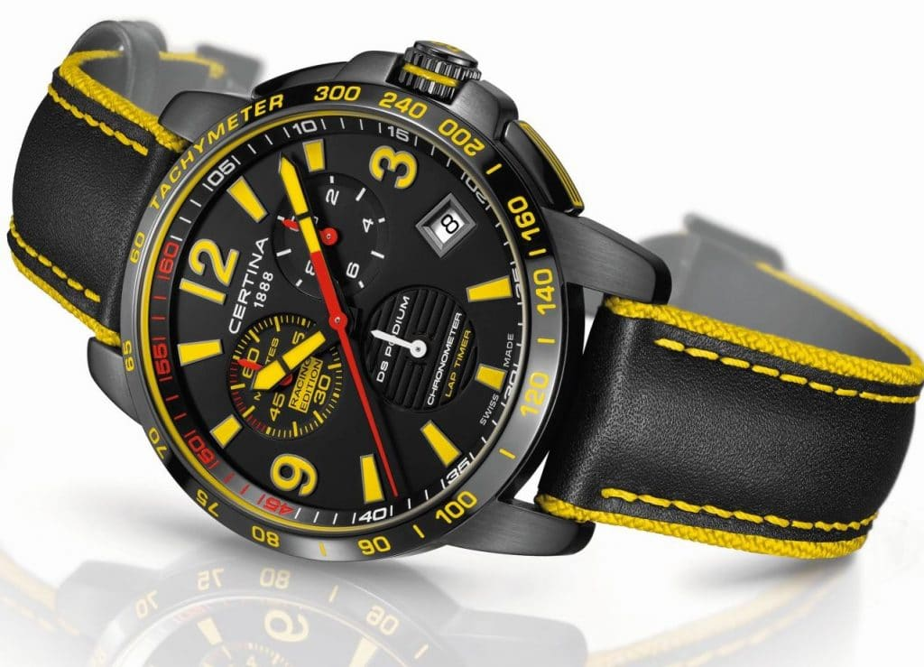 "Certina ""ADAC GT Masters"" Chronographe DS Podium Lap Timer - Racing Edition"