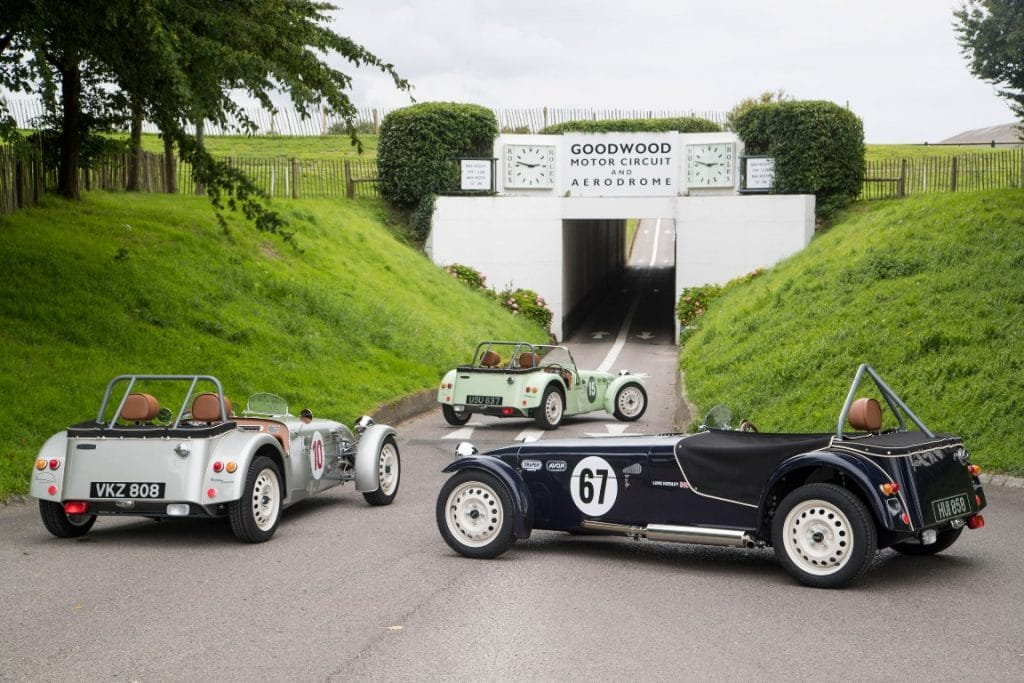 Caterham SuperSprint limited edition Retro Racer