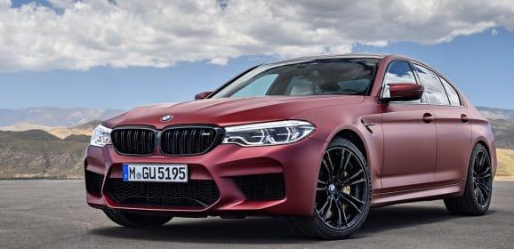 Salon de Francfort 2017 : BMW M5 (F90), pour 2018