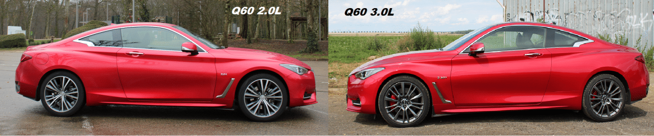 Infiniti Q60 2.0 vs Q60s 3.0T