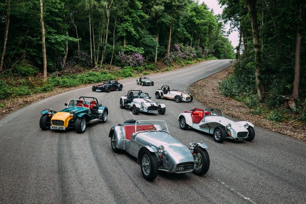 Lotus Caterham Seven 60 ans