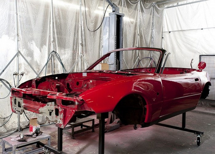 Mazda Roadster Restoration MX-5