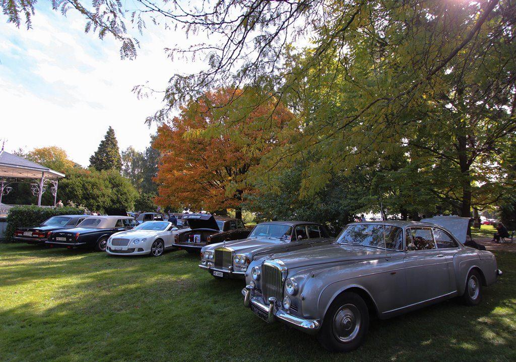 British car meeting de Morges