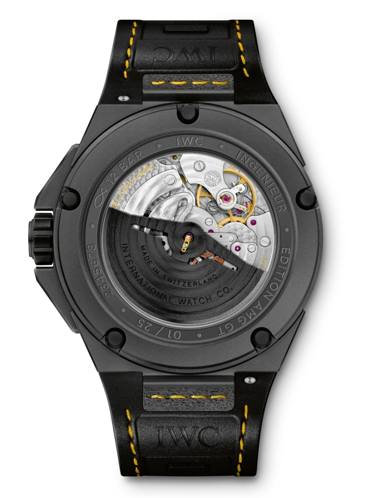 iwc ingenieur automatic edition amg gt 10 ans de. Black Bedroom Furniture Sets. Home Design Ideas