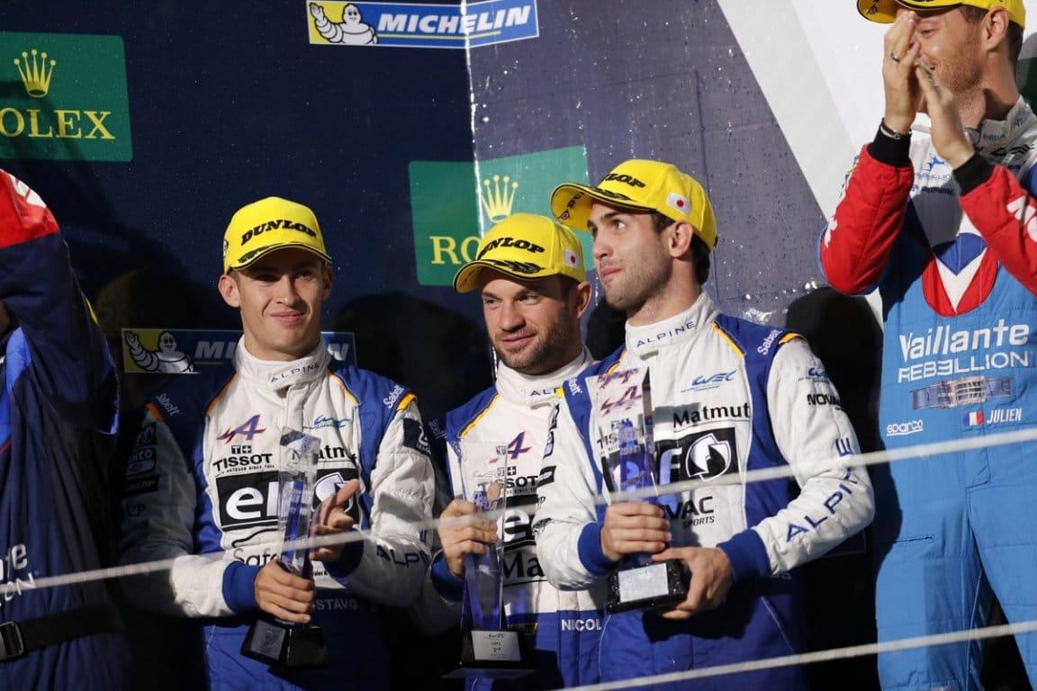 Signatech-Alpine n°36 – 6H Fuji FIA WEC 2017 – N.Lapierre /A. Negrao/G.Menezes