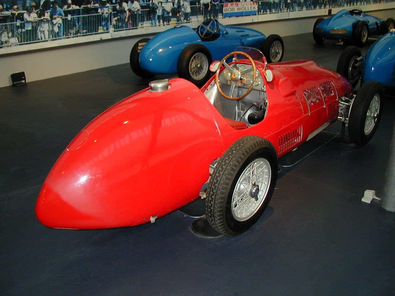 Ferrari 500 et 625