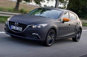 Mazda3 SkyActiv-X proto