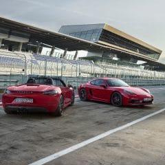 Porsche 718 GTS : Boxster et Cayman sous anabolisant