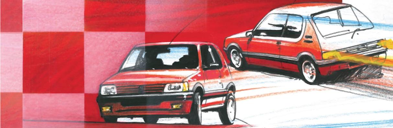 Yema Rallygraf Edition Spéciale 205 GTI Classic Club-3
