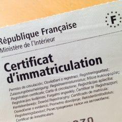 Certificat d'immatriculation : Procédure dématérialisée vraiment sécurisée ?