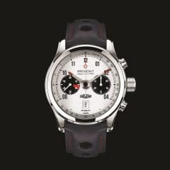 Bremont Jaguar MKII White : British spirit of racing