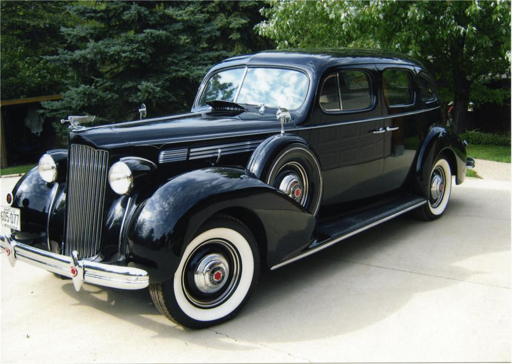 1937 Packard One-Twenty Touring Sedan