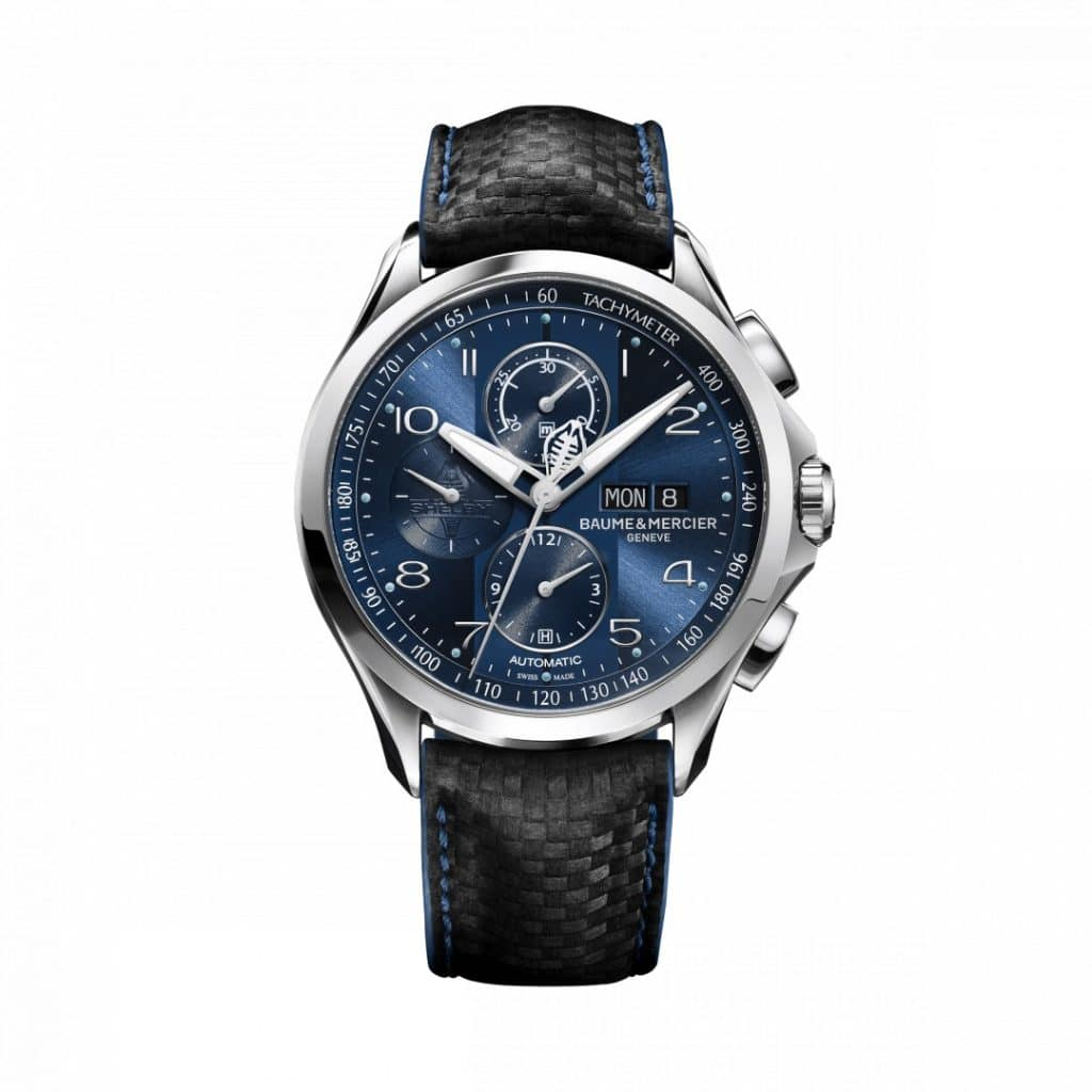 Baume et Mercier Clifton Club Shelby Cobra Bucherer Blue Edition