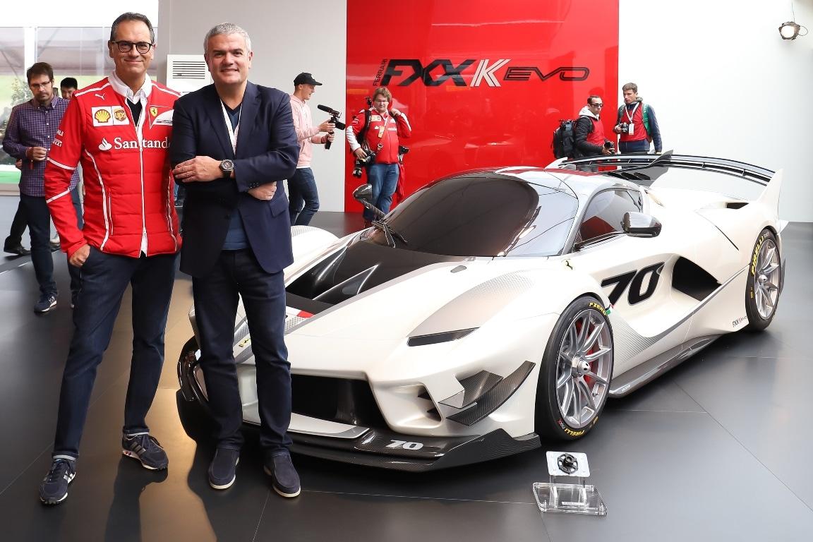 Hublot Ferrari Finali Mondiali 2017 – Flavio Manzoni and Ricardo Guadalupe