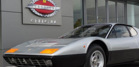 Ferrari Classiche Officina : 48 ateliers dans le monde