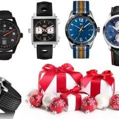 Noël 2017, 2ème partie : Notre sélection de montres liées à l'automobile entre 1000 € et 5000 €