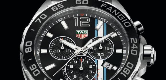 """TAG Heuer Formula 1 """"Fangio limited edition"""" : Hommage au pilote argentin"""
