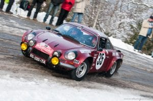 Monte Carlo Historique 2018 - Jean-Pierre Coppola - Alpine A110 Gr4 1970 ex-usine